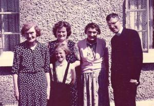 1959, visiting family and friends in Ireland