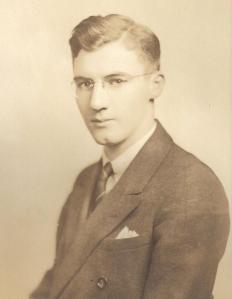 A Young Student at Quigley Seminary