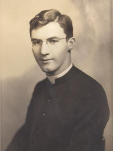 A young Seminarian