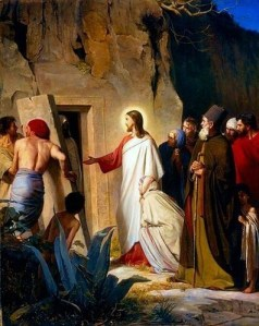 Raising Lazarus, Oil on Copper Plate, 1875  Carl Heinrich Bloch Via Wikipedia
