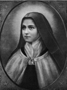 St. Therese of Lisieux – Nun and Doctor of the Church.  Picture via Wikipedia