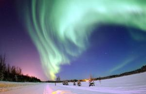 The Northern Lights, Picture via Wikipedia
