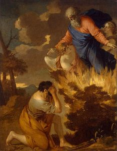 Sébastien Bourdon's Burning Bush Picture via Wiki Commons