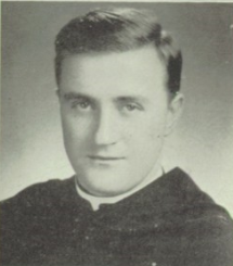 Fr. Thomas Nash, OSA As a young teacher at St. Rita High School, Chicago 1946