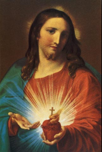 Sacred Heart of Jesus, 1767 by Pompeo Batoni ,  Via Wikipedia