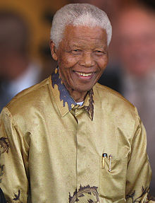 """Resentment is like drinking poison and then hoping it will kill your enemies."" Nelson Mandela Picture Via Wikipedia"