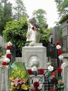 Chopin's Grave in Paris Picture via Wikipedia