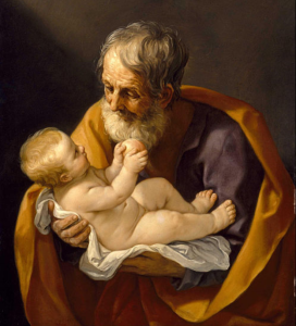 St. Joseph and the Christ Child, Guido Reni Via Wikimedia