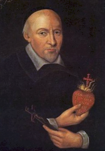Portrait of Saint John Eudes, 1673 via Wikipedia