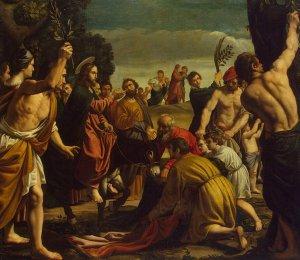 Pedro de Orrente, Triumphal Entry Into Jerusalem