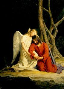 Carl Heinrich Bloch's painting of Gethsemane
