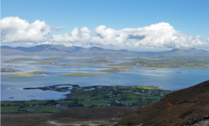 The view of County Mayo, from half way up Croagh Patrick My mother would have loved to visit her homeland.