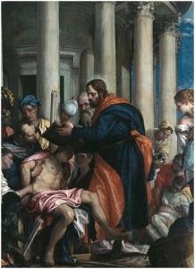 St Barnabas healing the sick Pablo Veronese via Wikipedia