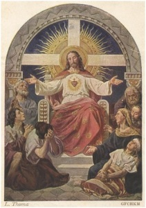 Sacred Heart of Jesus, Leonhard Thoma,  Via Wikipedia
