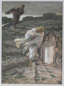 Saint Peter and Saint John Run to the Sepulchre By James Tissot – Via Wikipedia