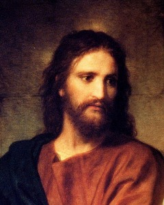 Christ, by Heinrich Hofmann via Wikipedia