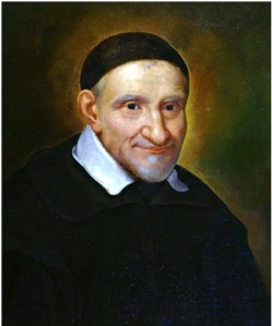 St. Vincent de Paul, was the Mother Teresa of his time (1576 – 1660). Everyone in need received help, the orphan, the widow, the sick, the poor. Picture via Wikipedia