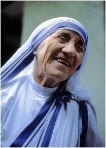 Blessed Teresa of Kolkata Photo by Manfred Ferrari, 2003 via Wikipedia