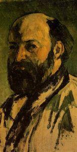 Self Portrait of Paul Cezanne Jeu de Paume Museum via Wikipedia