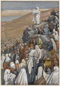 The Sermon of the Beatitudes James Tissot, Via Wikimedia Commons