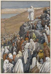 The Sermon of the Beatitudes James Tissot, Via Wikimedia Commons