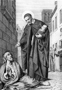 St. Vincent de Paul Image from Wellcome Images,  Via Wiki Commons