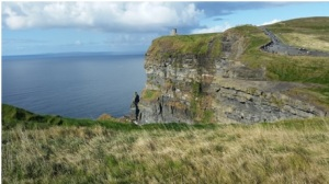 The Little Joys of Life include the beauty of our Mother Earth God has provided us on a daily basis. This is a picture of the Cliffs of Moher in Ireland