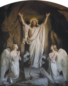 The Resurrection by Carl Heinrich Bloch, 1881 via Wiki Commons