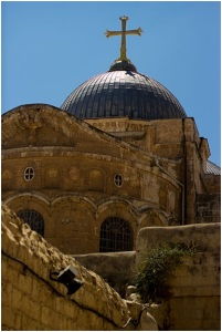 The Church of the Holy Sepulcher Photo by Victorgrigas, via Wiki Commons