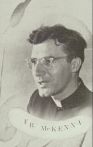 Fr. George McKenna from the 1954 Quigley Year Book!