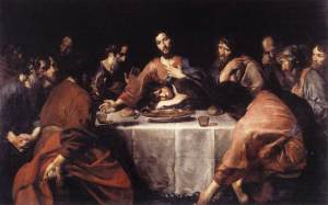 The Last Supper, by Valentin de Boulogne, Via Wikipedia